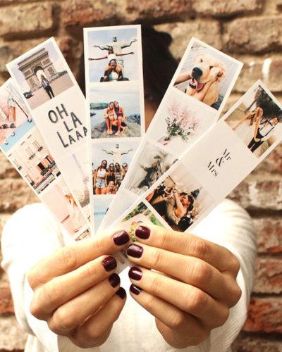 Set de 5 benzi magnetice personalizate cu 18 fotografii si text.