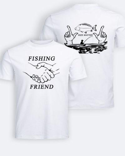 Tricou personalizat de pescar fața/spate