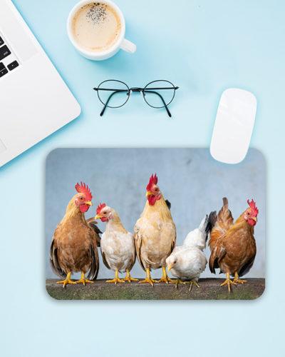 Mousepad personalizat cu poza ta. Forma dreptunghi.