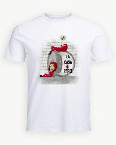 Tricou personalizat La Casa de Papel model 15