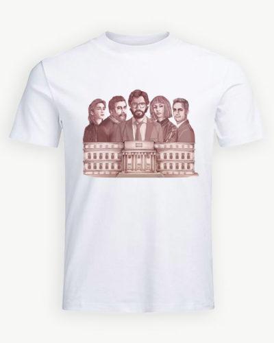 Tricou personalizat La Casa de Papel model 18