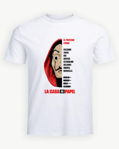 Tricou personalizat La Casa de Papel model 12