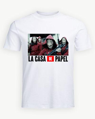 Tricou personalizat La Casa de Papel model 22