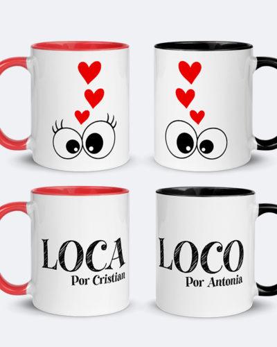 Set căni personalizate pentru cupluri LOCA