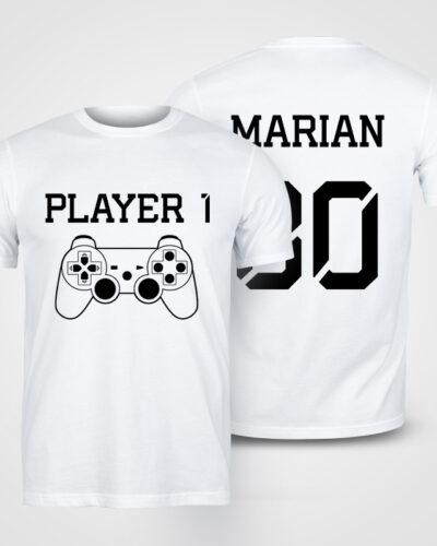 Tricou Player personalizat cu nume si numar