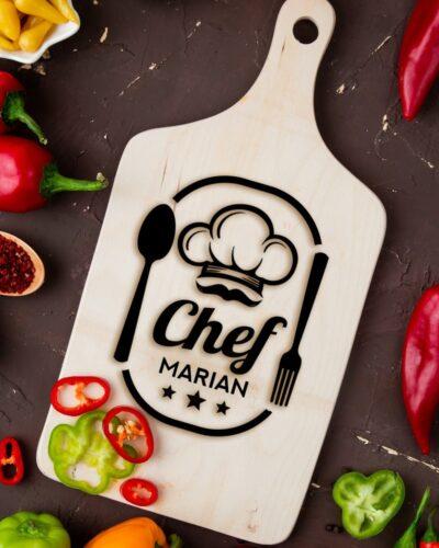 Tocător personalizat Chef